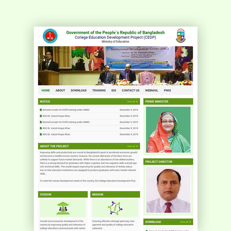 CEDP - Web Design Project