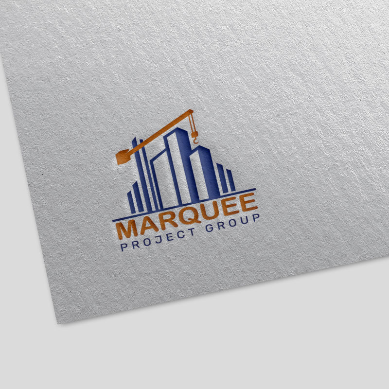 marquee project group logo design